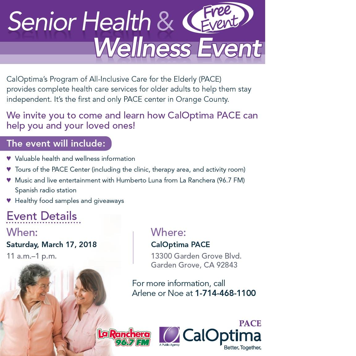 Senior Event